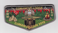 Coman-Do-Gun 2019 OA Flap Louisiana Purchase Council #213