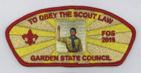 FOS 2019 Obey The Scout Law Garden State Council #690
