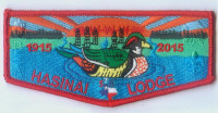 HASINAI LODGE FLAP 1915 Three Rivers Council #578