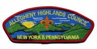 AHC CSP 2014 Allegheny Highlands Council #382