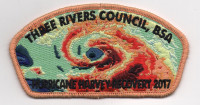 HURRICANE HARVEY ORANGE Three Rivers Council #578