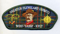 K123748 - GCC WOOD BADGE CSP (RED BORDER) Greater Cleveland Council #440