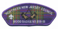 Wood Badge N5-358-18 (NNJ CSP)  Northern New Jersey Council #333
