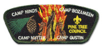 P24241 2017 Camping Puzzle Patch Pine Tree Council #218