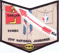 2017 National Jamboree - SVMBC - Uniform - Pocket Piece Silicon Valley Monterey Bay Council #55