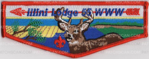 Patch Scan of ILLINI LODGE 55 FLAP