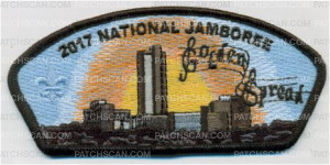 Patch Scan of National Jamboree 2017 Amarillo