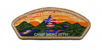 Allegheny Highlands Council Camp Merz 85th White Border Allegheny Highlands Council #382