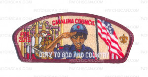 Patch Scan of K123949 - Catalina Council - Duty to God and Country CSP