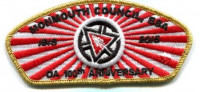 OA 100th Anniversary CSP Gold  Monmouth Council #347
