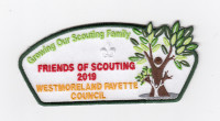 Growing Our Scouting Family FOS 2019 Westmoreland-Fayette Council #512