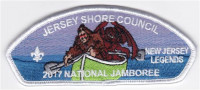 JSC 2017 National Jamboree 6 Piece Set New Jersey Legends Jersey Shore Council #341