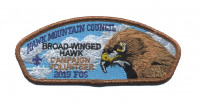 Hawk Mountain Council - 2019 FOS (Broad Winged Hawk) Hawk Mountain Council #528