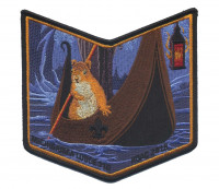 Michigamea Lodge 110 NOAC 2018 pocket patch#3 Pathway to Adventure Council #