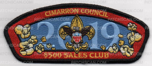 Patch Scan of CIMARRON 500 SALES CLUB