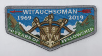 Witauchsoman 1969-2019 50 Years Flap Minsi Trails Council #502