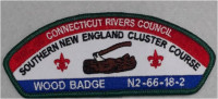 CRC Wood Badge N2-66-18-2 Connecticut Rivers Council #66