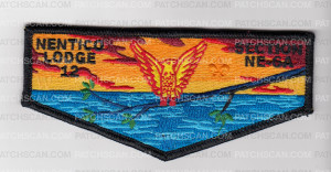 Patch Scan of Nentico Lodge 12 Section NE-6A