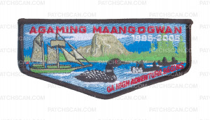 Patch Scan of K124089 - WATER & WOODS FS COUNCIL - OA HI ADVENTURE BEGINS AGAMING MAANGOGWAN
