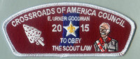 FOS TO OBEY SCOUT LAW E. URNER GOODMAN CSP Crossroads of America Council #160