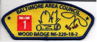 Baltimore Area Council Wood Badge Beads Troop 1 Baltimore Area Council #220