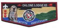 Ohlone Lodge 63 - Pocket Flap Pacific Skyline Council #31