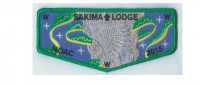 Sakima Lodge NOAC flap La Salle Council #165