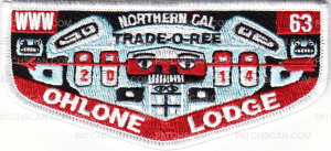 Patch Scan of 33841 - Ohlone Lodge 63 2014 Trade-O-Ree Lodge Flap
