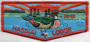 Patch Scan of 2019 HASINAI LODGE FLAP