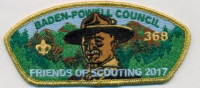 Friends of Scouting 2017 Special Baden-Powell Council #381