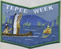 Tepee Week Tu-Cubin- Noonie Pocket Patch Utah National Parks Council #591