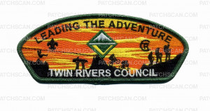 Patch Scan of Leading the Adventure - TRC (Green Border)