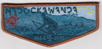 Madockawanda OA Flap 75th Anniversary  Pine Tree Council #218