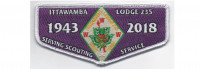 2018 Lodge Flap Service (PO 87581) West Tennessee Area Council #559