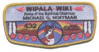 Wipala Wiki 432 Michael G. Hoffman Gold Border Grand Canyon Council #10