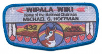 Wipala Wiki 432 Michael G. Hoffman Flap - Blue Border Grand Canyon Council #10