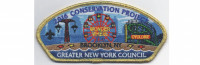 Conservation Project 2016 Gold Border (PO 86412) Greater New York, Brooklyn Council #642