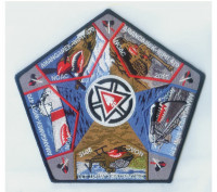 Amangamek-Wipit NOAC backpatch National Capital Area Council #82