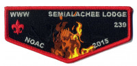 NOAC - Flame Set (Flap) Suwannee River Area Council #664