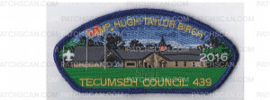 Patch Scan of Camp Birch CSP 2016 (blue Mylar)