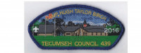 Camp Birch CSP 2016 (blue Mylar) Tecumseh Council #439
