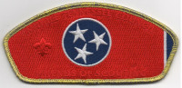 Friends of Scouting CSP Metallic Gold Border (PO 88187) Middle Tennessee Council #560