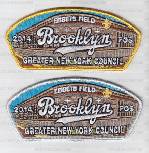 Patch Scan of Brooklyn FOS 2014