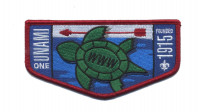 Unami One Turtle Flap Cradle of Liberty Council #525