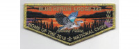 2018 National Chief Flap Metallic Border (PO 87548) Tidewater Council #596