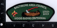 Baltimore Area Council Wood Badge 100 Years 1919 - 2019 Baltimore Area Council #220