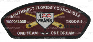 Patch Scan of SW FL Council - WoodBadge CSP