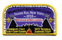 Woodcraft Boy Scout Camp Silver Bay, New York 1910 2017 National Jamboree Rocky Mountain Council #63