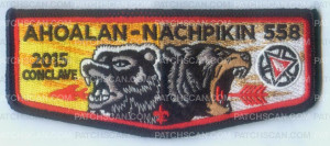 Patch Scan of AHOALAN NACHPIKIN CONCLAVE FLAP
