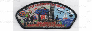 Patch Scan of 2017 Conservation Project CSP Black Border (PO 87340)